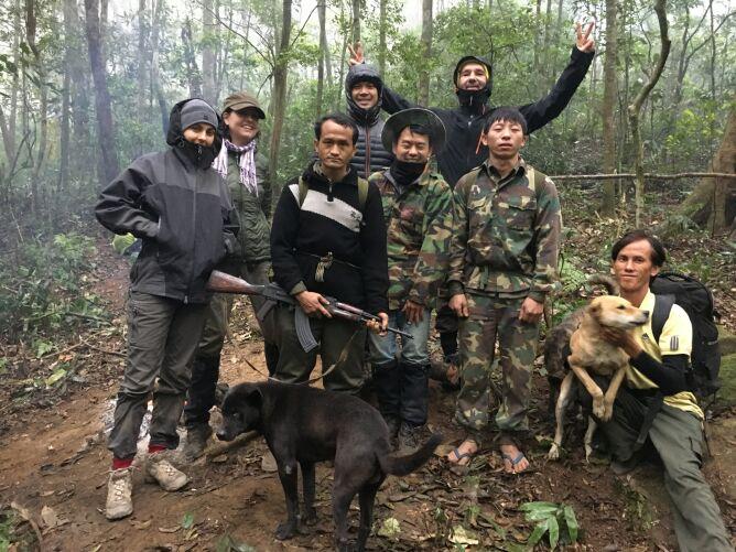 Pierwsza wyprawa w poszukiwaniu saoli w dżungli (zoo Wrocław)
