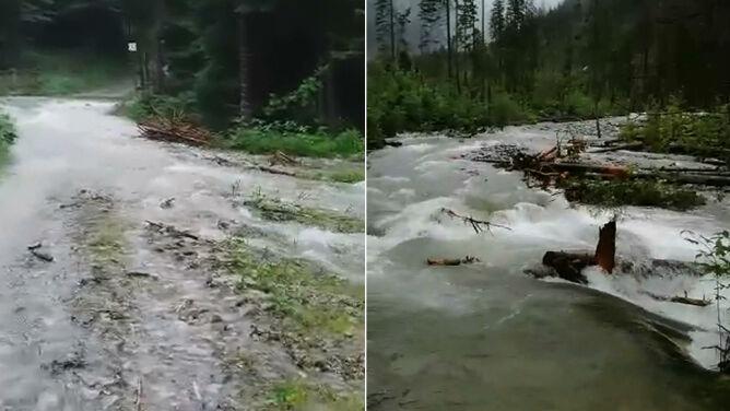 Wiele zamkniętych szlaków w Tatrach. <br />Niebezpiecznie także w Bieszczadach