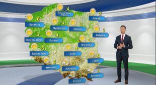 Pogoda na poniedziałek 23.03