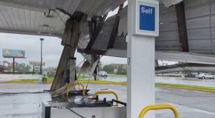 Zniszczenia po przejściu huraganu Sally