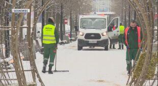 Śnieg w Sosnowcu (wideo z 10 grudnia)